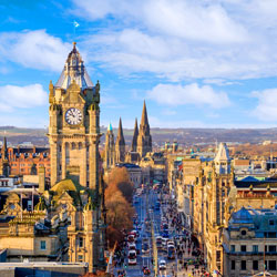 Cheap Flights from Cork to Edinburgh