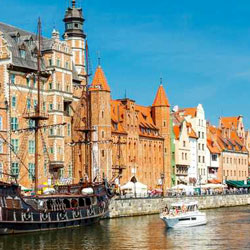 Cheap Flights from Cork to Gdansk