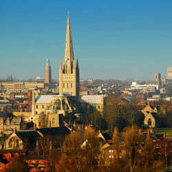 Cheap Flights from Cork to Norwich