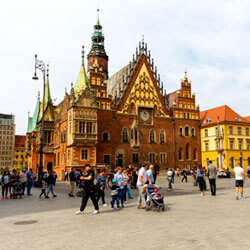 Cheap Flights from Cork to Wroclaw